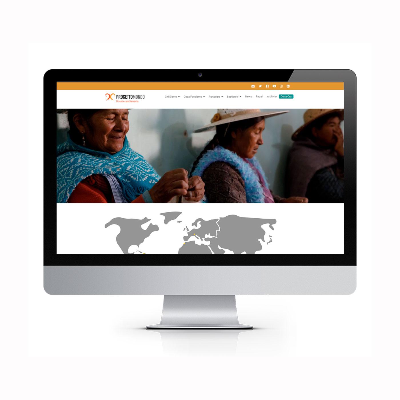 sito web Progettomondo