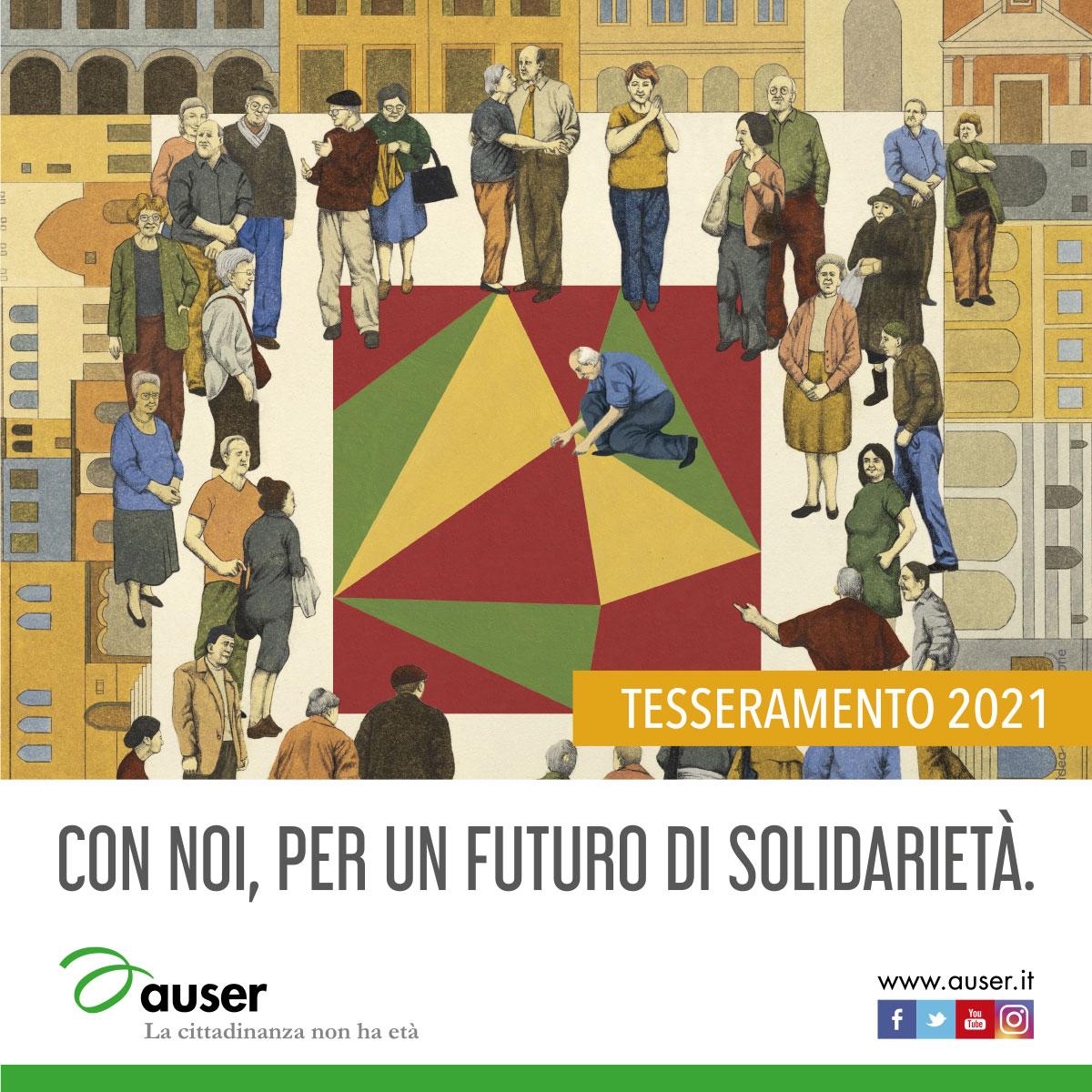 campagna tesseramento auser 2021